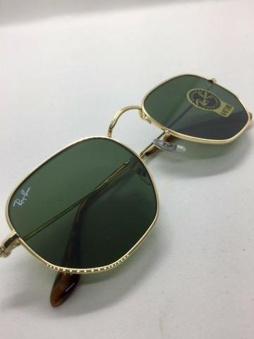 3e856e3e8a3b9 Óculos Ray Ban Hexagonal RB3548 Várias Cores Original Com Garantia de 1 ano