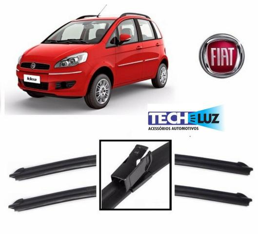 Palheta Limpador Parabrisa Especifica Citroen Peugeot Vw Hyundai Fiat Honda Toyota - Foto 7