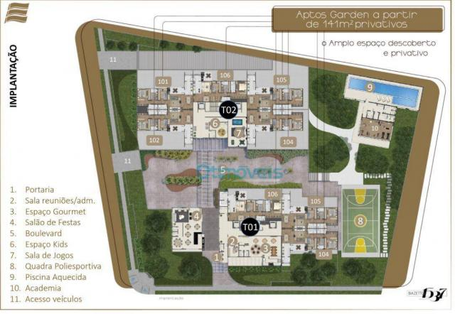 Apartamento com 3 dormitórios à venda, 108 m² por r$ 741.712 - ecoville - curitiba/pr - Foto 7