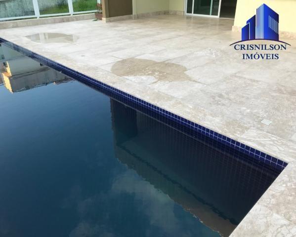 Casa à venda alphaville salvador ii, nova, r$ 2.190.000,00, piscina, espaço gourmet, área  - Foto 5