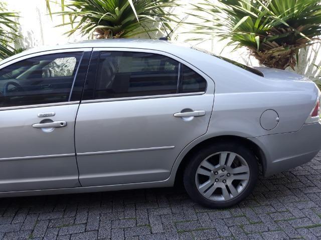 Vendo Ford Fusion 2008 blindado completo cor prata + empresa - Foto 9