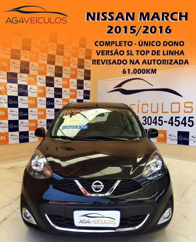 Nissan march sl 1.6 2016