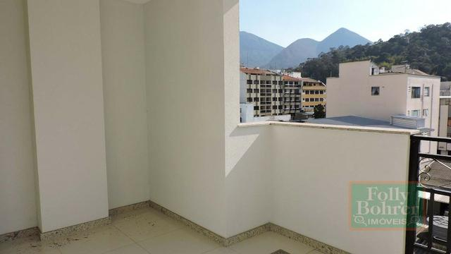 Apartamento novo no Centro com 3 quartos, varanda, 2 vagas de garagem - Foto 5