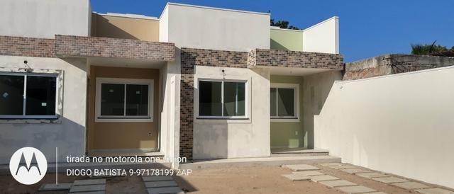 Casa plana no eusébio com terreno grande - Foto 4