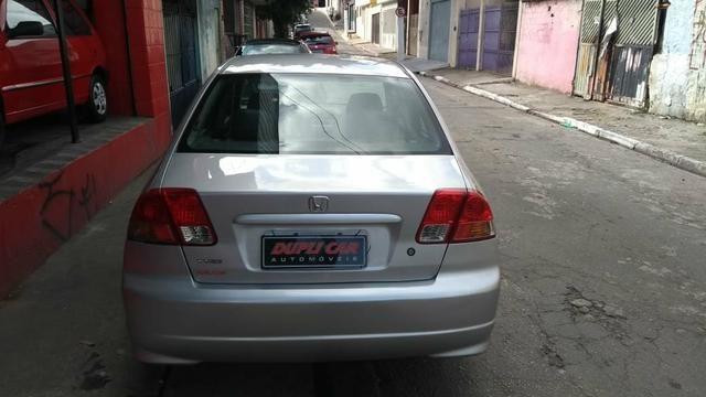 Honda Civic ex automatico 2006 + couro novinho - Foto 7