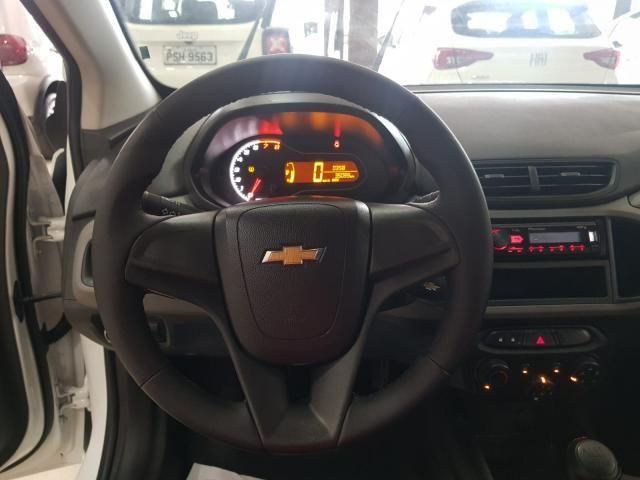 GM - Onix Joy 1.0 18/19 - Troco e Financio! - Foto 9