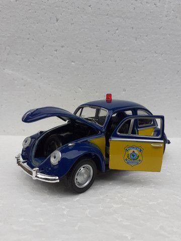 Miniatura Fusca Polícia Federal rodoviária  - Foto 2
