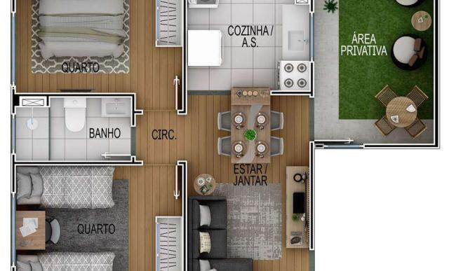 Residencial Venice - Apartamento 2 quartos em Serra, SE - ID4017 - Foto 9