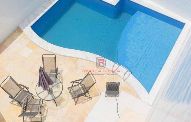 Apartamento 3 quartos no Bessa com varanda gourmet e área de lazer - Foto 3