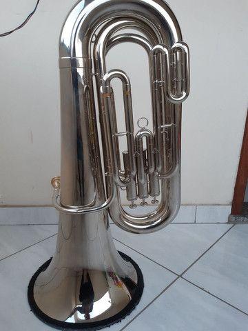 Tuba weril J310 em dó excelente estado  - Foto 3