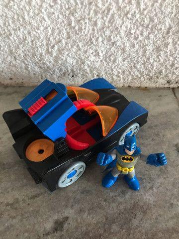 Batmóvel DC comics Batman Imaginext  - Foto 2
