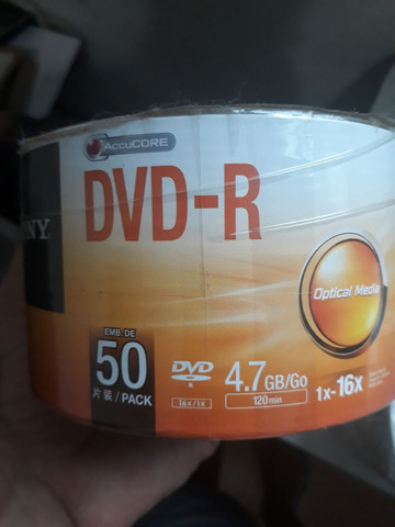 DVD virgem Sony - Foto 2
