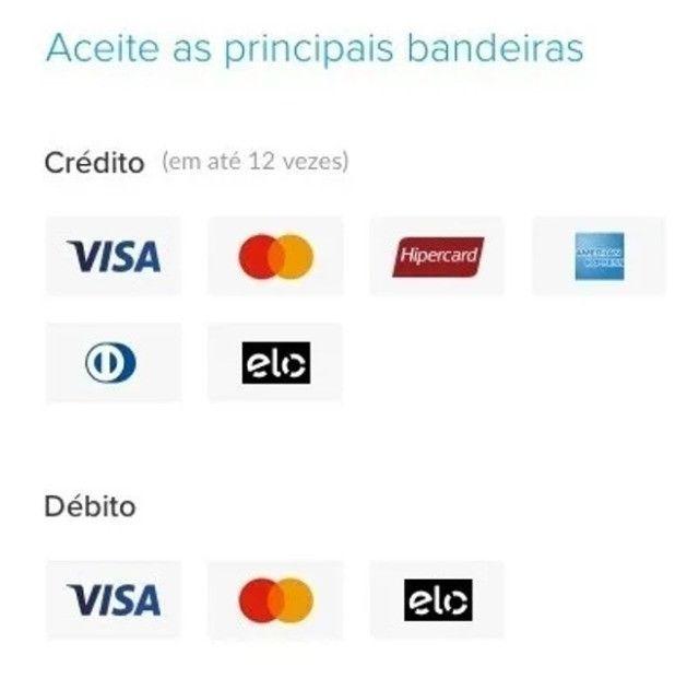 Máquina de cartão Mercado pago Atacado! - Foto 5