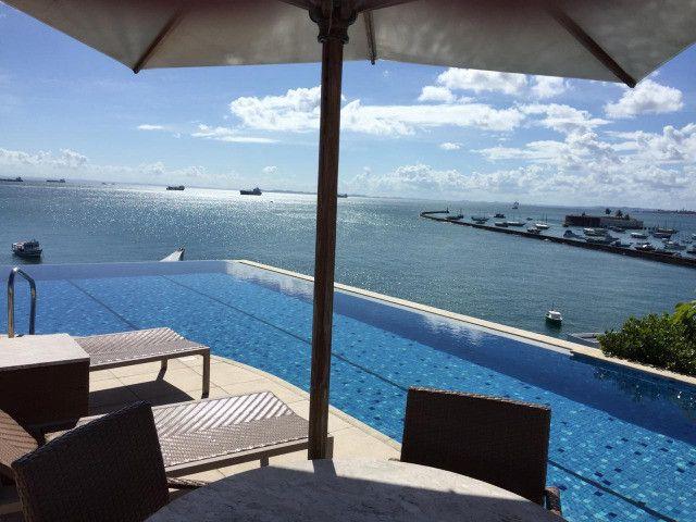 Apartamento Porto Trapiche 1 Quarto 94m2 Nascente Vista Mar Decorado Orla Contorno - Foto 17