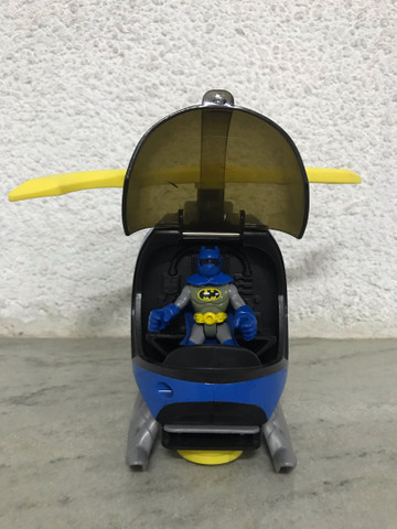 Helicóptero do batman Imaginext DC comics  - Foto 3