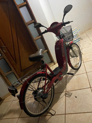 Bicicleta Elétrica (Baterias novas c/ garantia) - Foto 2