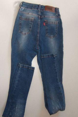 3 calça jeans  40,00 - Foto 5