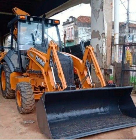 Retro Escavadeira Case 580n ano 2013 (Parcele no boleto)
