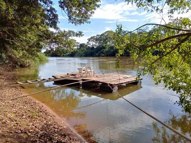 chacara na passagem da conceição em várzea grande com 50 M² de margem de rio - Foto 11