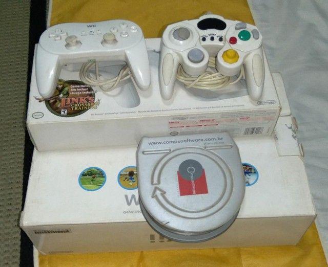 Nintendo Wii completo com arma e jogos originais  - Foto 5