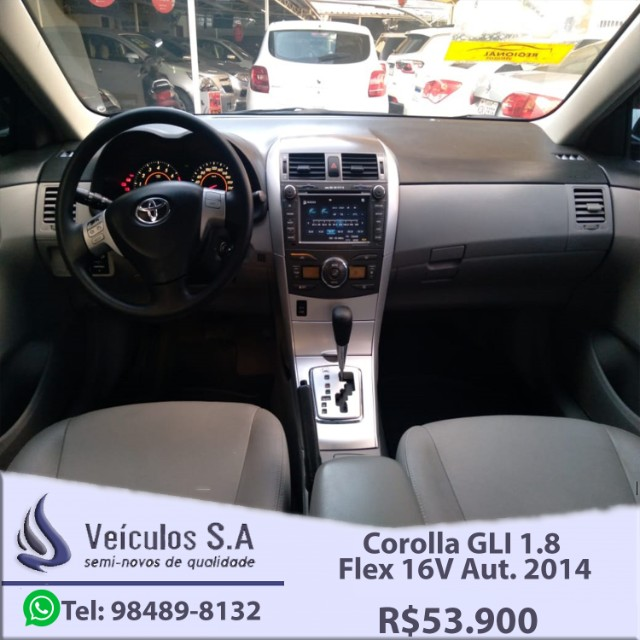Corolla GLI 1.8 Flex 16V Aut. 2014 - Foto 10
