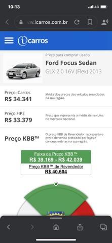 Ford Focus 2.0 16v GLX MANUAL 12/13  - Foto 11