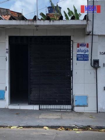 Loja para alugar com 25 m², próximo à Av. Mozart Pinheiro de Lucena