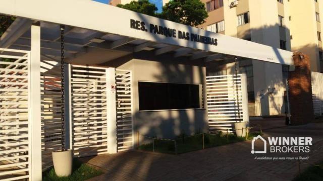 Apartamento com 2 dormitórios para alugar, 45 m² por R$ 550,00/mês - Jardim Ipanema - Mari