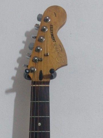 Guitarra squier fender jagmaster - Foto 3