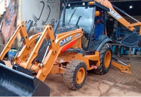 Retro Escavadeira Case 580n ano 2013 (Parcele no boleto) - Foto 5