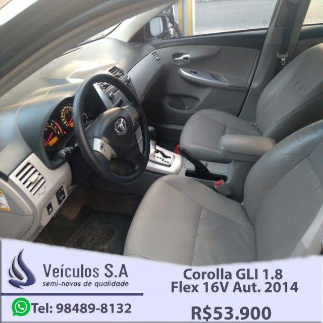Corolla GLI 1.8 Flex 16V Aut. 2014 - Foto 11