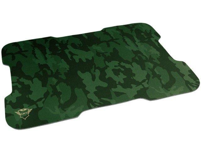 mouse gamer trust rixa camo verde camuflado 3200dpi usb com mouse pad - Foto 2