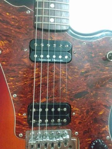 Guitarra squier fender jagmaster - Foto 4