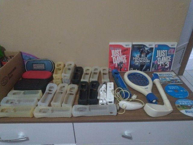 Jogos originais e Acessórios Wii e PSP - Foto 2