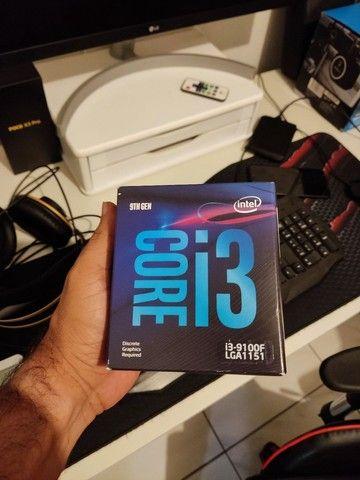 Vendo ou troco Processador Intel Core i3 9100F