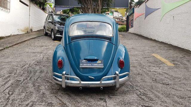 Fusca 1966 azul - Foto 5