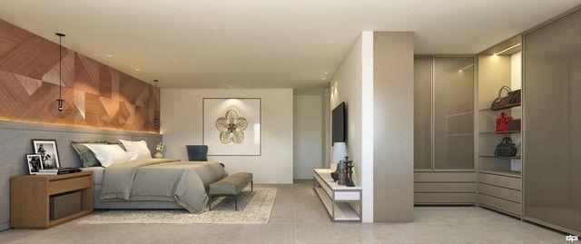 CRS Luxuosa Casa 5 Suítes 3 pavimentos 4 Vagas Condomínio no Poço 258 M² Alto Padrão - Foto 2