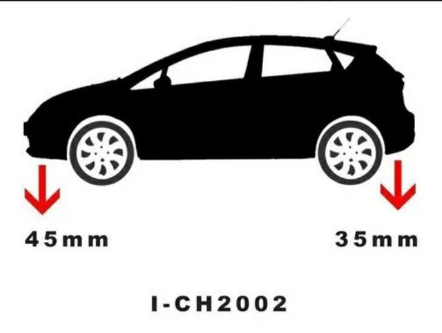 Kit molas esportivas fabrini na caixa 700 Celta carros Chevrolet molas aceito trocas  - Foto 2