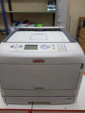 Empresora oki Pro 8432 A3 Toner Branco