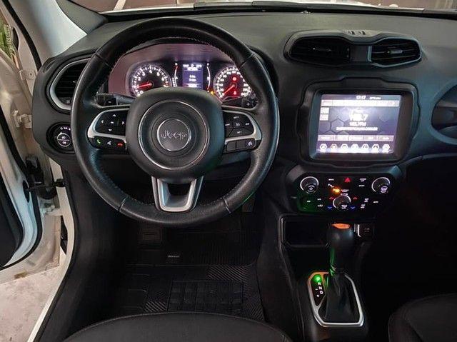 Jeep Renegade Longitude 1.8 Flex At Mod 2019 Km 34.000 Impecável Prestige Automóveis - Foto 8