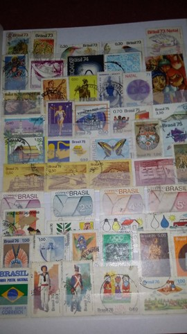 selos moedas e cédulas antigas - Foto 2