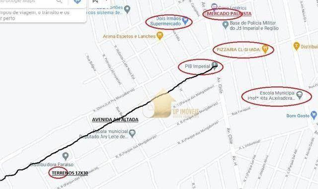 Terreno à venda, 360 m² por R$ 55.000,00 - Parque das Mangabeiras - Várzea Grande/MT - Foto 3