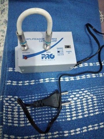 Amplificador de linha pro CATV-VHF-UHF - Foto 2