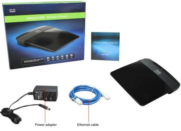 Roteador Linksys Wireless Roulin E1200-br Wireless-n Router