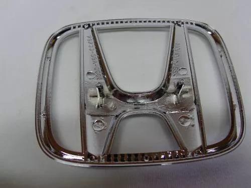 Emblema Grade Radiador Honda New Fit 2009 2010 a 2014 - Foto 2