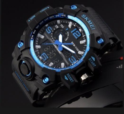 89d0af8897f Relógio Masculino esporte Wr - Resistente a água - Bijouterias ...