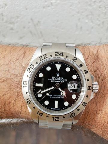 98f0454beae Relógio Rolex Explorer II - Bijouterias