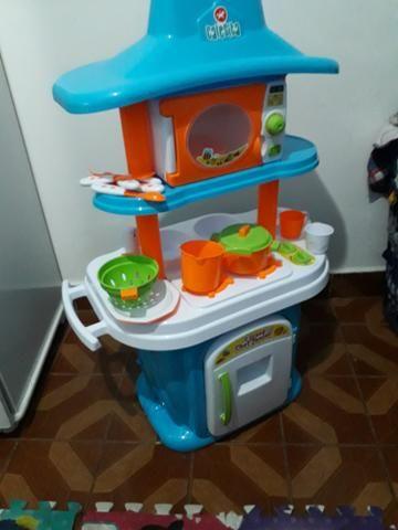 Cozinha Infantil Le Grand Chef Junior Calesita Artigos Infantis