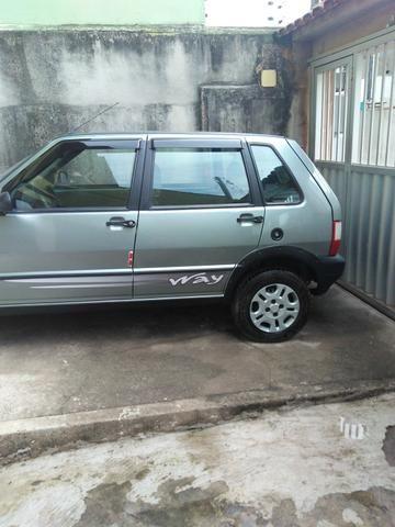 Fiat uno Mille, Completo ,troco em caminhão