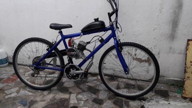 Bicicleta a gasolina 48cc